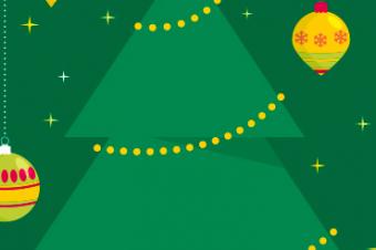 Secretária, te desejamos um feliz Natal, repleto de prosperidade!