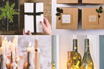 Inspire-se: dicas para fazer uma decoração de Natal diferente e sustentável