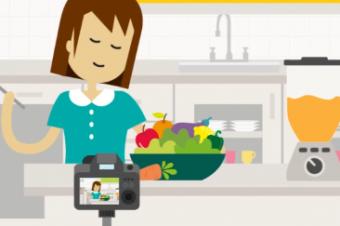 Assista ao vídeo e aprenda a fazer cookies deliciosos e saudáveis!
