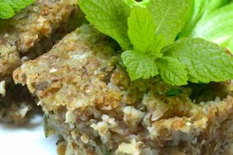Delicioso e saudável: aprenda a fazer um quibe de berinjela sem carne!