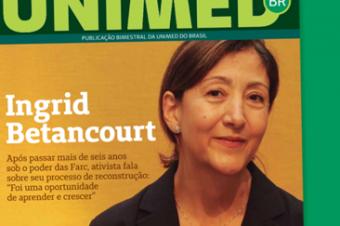Na edição 27 da Revista Unimed, entrevista com Ingrid Betancourt, informações sobre a pílula anticoncepcional e muito mais!