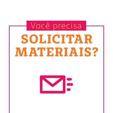 Utilize o novo e-mail para a solicitação de materiais via malote!