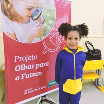 Projeto Olhar para o Futuro beneficia 220 crianças