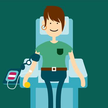 Você sabia? Cada doação de sangue pode salvar até quatro vidas!