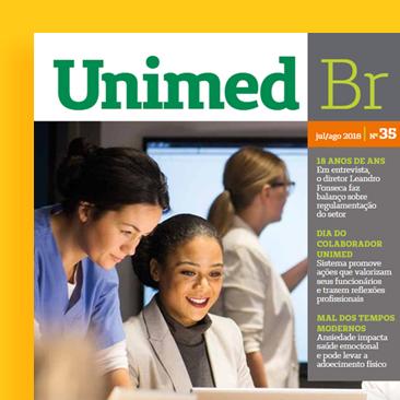 Ansiedade, inovação e muito mais na Revista Unimed BR