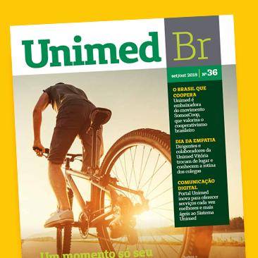 Empatia e mudança de hábitos na nova edição da Revista Unimed BR