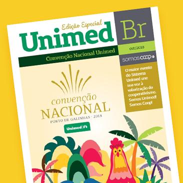 Está no ar mais uma edição especial da Revista Unimed BR. Confira!