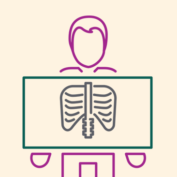 O resultado de exames de raios-x pode ser acessado pelo app, site e Portal do Cooperado!
