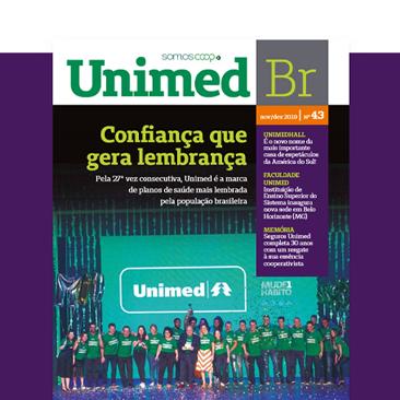 Leia a última edição da Revista Unimed BR!