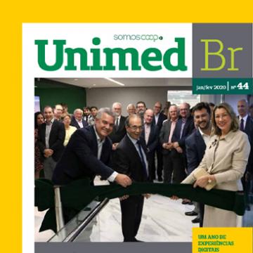 Inovação, tecnologia e saúde no verão e carnaval. Veja na última edição da Revista Unimed BR: