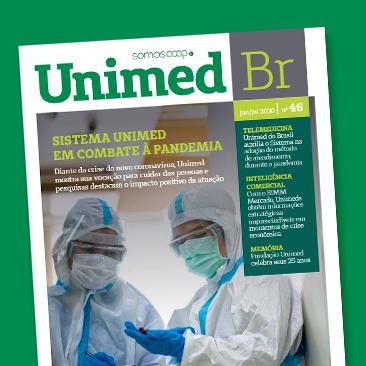 Empatia, tecnologia e vocação em cuidar. Veja a nova edição da Revista Unimed BR!