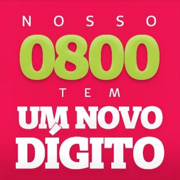 O 0800 da Unimed Nordeste-RS tem um novo dígito!